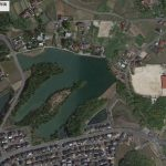 【ポイントNo:8024】広島県東広島市 バス釣り禁止 中学校付近の池 バス釣りポイント
