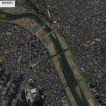 【ポイントNo:2317】神奈川県川崎市 バス釣り 「多摩川東海道新幹線下」 バス釣りポイント