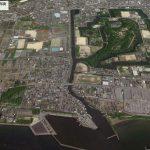 【ポイントNo:6158】滋賀県彦根市 彦根城流れ込み バス釣りポイント