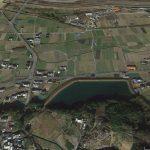 【ポイントNo:10017】愛媛県東温市 船川池 バス釣りポイント