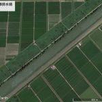 【ポイントNo:0178】秋田県大潟村 「中央幹線排水路」 バス釣りポイント