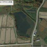 【ポイントNo:0045】山形県上山市 「宿尻フルーツラインの池」 バス釣りポイント