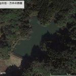 【ポイントNo:2005】千葉県いすみ市 「万木城趾の池・万木の西堰」 バス釣りポイント