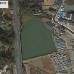【ポイントNo:2006】千葉県館山市 「中学校裏の池」 バス釣りポイント