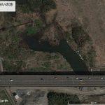 【ポイントNo:2035】東京都あきる野市 「多摩川沿いの池」 バス釣りポイント