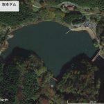 【ポイントNo:2037】群馬県安中市 「碓氷湖、坂本ダム」 バス釣りポイント
