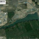 【ポイントNo:0028】青森県三沢市 「三沢基地横の池」 バス釣りポイント