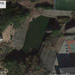 【ポイントNo:2058】千葉県勝浦市 「大学裏の池」 バス釣りポイント
