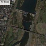 【ポイントNo:2078】神奈川県平塚市 「相模川、神川橋付近」 バス釣りポイント