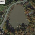 【ポイントNo:0051】山形県寒河江市 「高速道路横の池」 バス釣りポイント