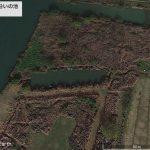 【ポイントNo:2079】千葉県松戸市 「江戸川沿いの池」 バス釣りポイント