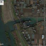 【ポイントNo:2081】千葉県松戸市 「坂川放水路」 バス釣りポイント
