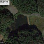 【ポイントNo:2129】茨城県水戸市 「陸上競技場近くの池」 バス釣りポイント
