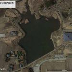 【ポイントNo:0029】青森県おいらせ町 「いちょう公園内の池」 バス釣りポイント