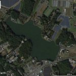 【ポイントNo:2157】茨城県桜川市 「上野沼」 バス釣りポイント
