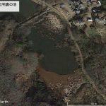 【ポイントNo:2159】千葉県市原市 「山木の社宅裏の池」 バス釣りポイント