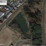 【ポイントNo:2163】千葉県成田市 「京成本線横の池」 バス釣りポイント