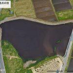 【ポイントNo:0071】秋田県湯沢市 「大堤交差点の池」 バス釣りポイント