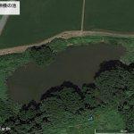 【ポイントNo:0086】岩手県奥州市 「大沢明神横の池」 バス釣りポイント