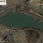 【ポイントNo:0088】岩手県奥州市 「小山田駅前の池」 バス釣りポイント