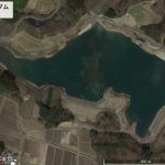 【ポイントNo:0100】福島県二本松市 「山の入ダム」 バス釣りポイント