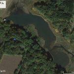 【ポイントNo:0023】青森県つがる市 「小戸六ダム」 バス釣りポイント
