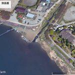 【ポイントNo:4244】山梨県富士河口湖町 「ハワイ 漁協裏」 バス釣りポイント