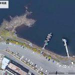 【ポイントNo:4246】山梨県富士河口湖町 「河口湖 畳岩駐車場裏」 バス釣りポイント