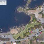 【ポイントNo:4253】山梨県富士河口湖町 「河口湖 さかなやワンド」 バス釣りポイント