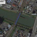 【ポイントNo:2227】茨城県土浦市 「桜川 常磐線下」 バス釣りポイント