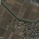 【ポイントNo:2206】千葉県香取市 「八筋川」 バス釣りポイント