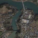 【ポイントNo:2306】神奈川県相模原市 「秋山川下流」 バス釣りポイント