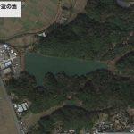 【ポイントNo:12057】福岡県直方市 「水町遺跡公園付近の池」 バス釣りポイント