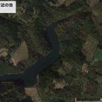 【釣り禁止】【ポイントNo:12029】宮崎県児湯郡 「青鹿自然公園付近の池」 バス釣りポイント