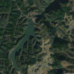 【ポイントNo:12045】大分県玖珠郡 「日出生ダム」 バス釣りポイント