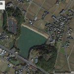【ポイントNo:12049】福岡県築上郡 「道の駅付近の池」 バス釣りポイント