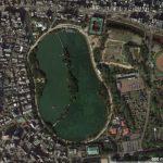 【ポイントNo:12089】福岡県福岡市 「大濠公園池」 バス釣りポイント