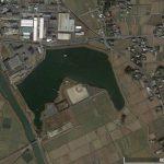 【ポイントNo:12109】福岡県鞍手郡 「浮州池」 バス釣りポイント