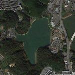 【ポイントNo:12095】福岡県糟屋郡 「古大間池」 バス釣りポイント