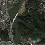 【ポイントNo:12096】福岡県糟屋郡 「新大間池」 バス釣りポイント